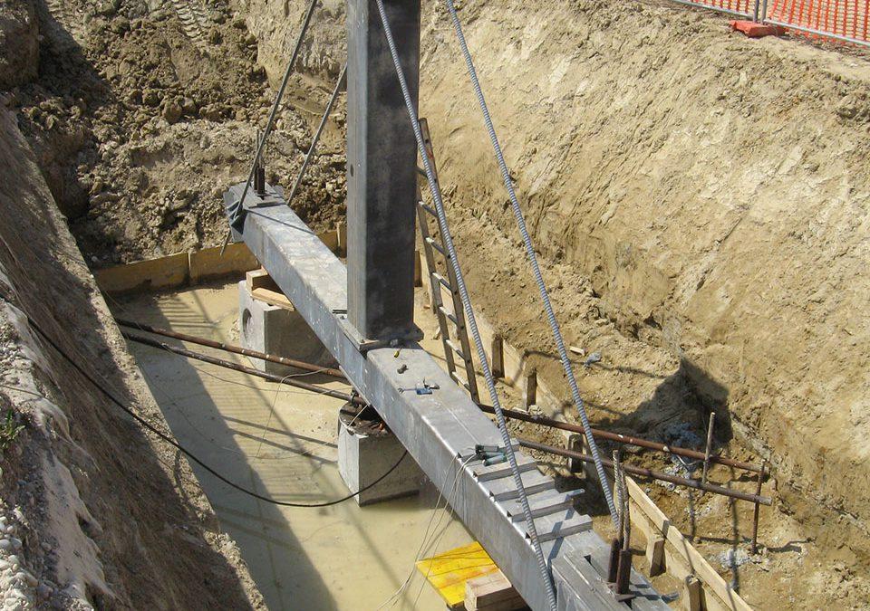 Prove di carico su pali di fondazione: modalità operative