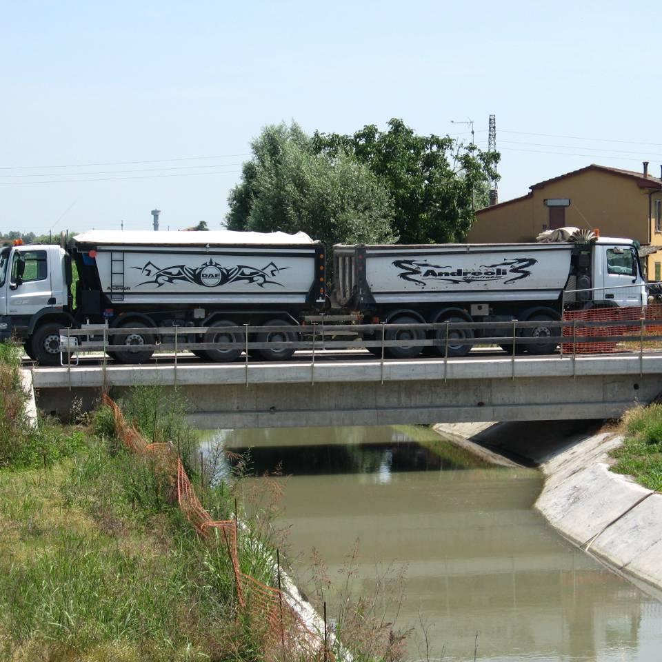 prova di carico su ponti