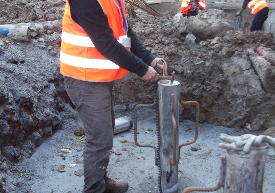 Prove non distruttive su pali di fondazione per controlli d'integrità